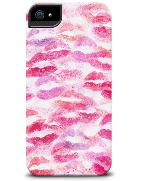 """Lip Print"" phone case from the P.S.-I made this...Collection with @Cellairis  Check out the whole collection at: www.cellairis.com..."