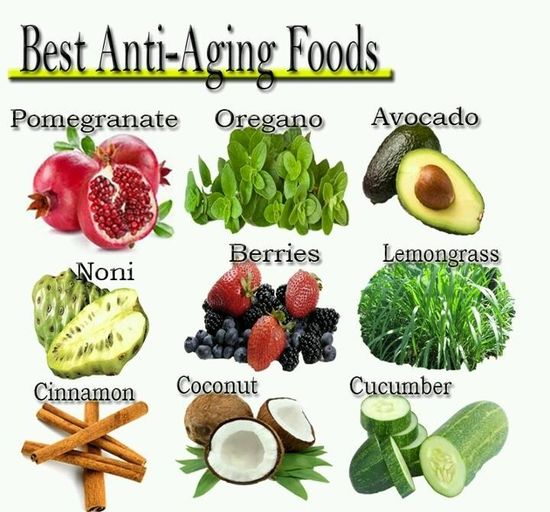 Anti-Aging Foods..  Why bother going to spas, beauty centers and pay for a thousand bucks just to feel healthy and young when you can have all these healthy foods that can help you!