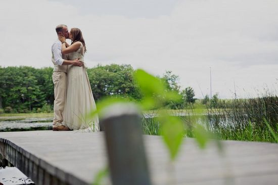 Kasey & Josh / Bride wore on the Onyx Gown by @Catherine Deane for BHLDN