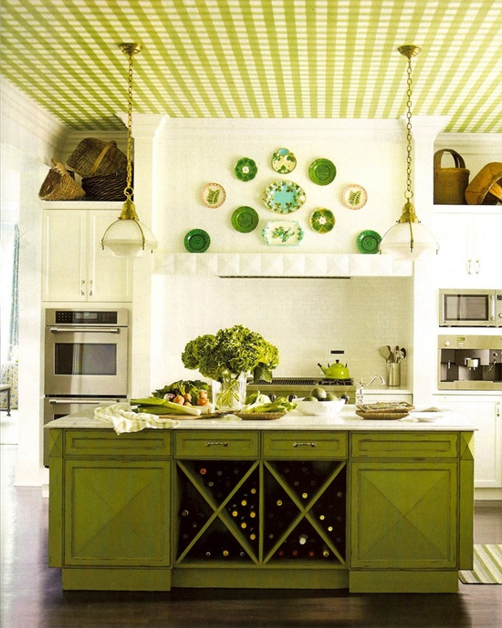 Green kitchen? Does it get anymore perfect?