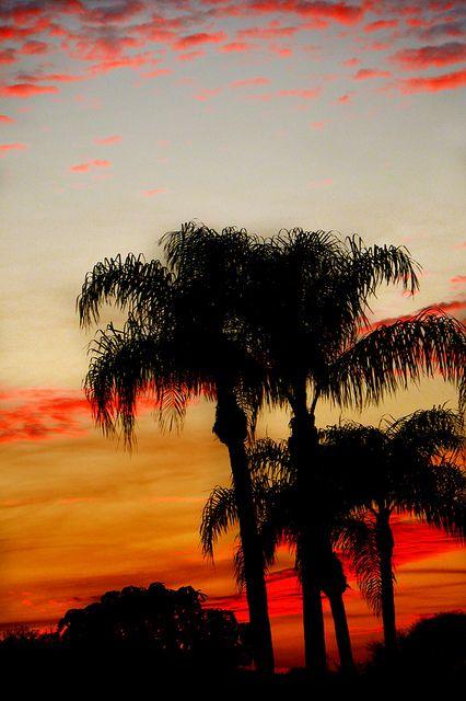 Sunset at Cocoa Beach, Florida