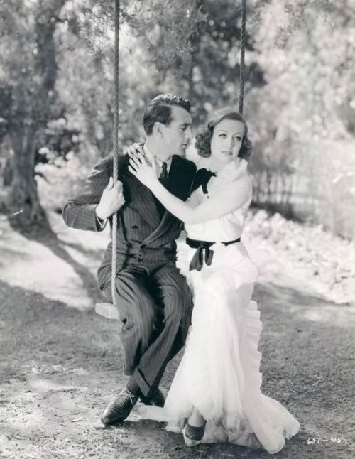 "Gary Cooper and Joan Crawford in ""Today we live"" (1937)"