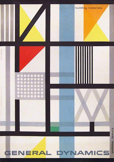 General Dynamics - Building Materials  Erik Nitsche 1954