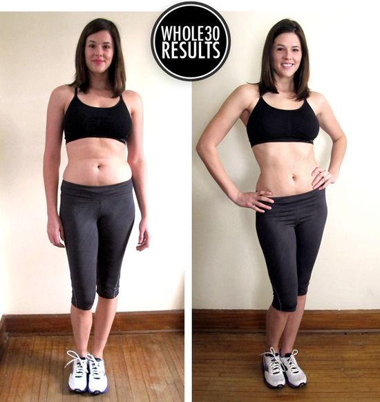 Before and After Whole 30 Challenge... I think it might be time to try this.