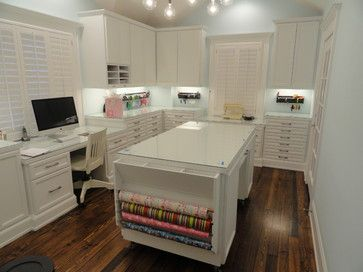 Craft Room Design Ideas, Pictures, Remodel, and Decor - page 17
