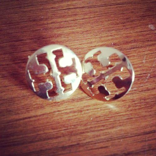 Tory Burch earrings.