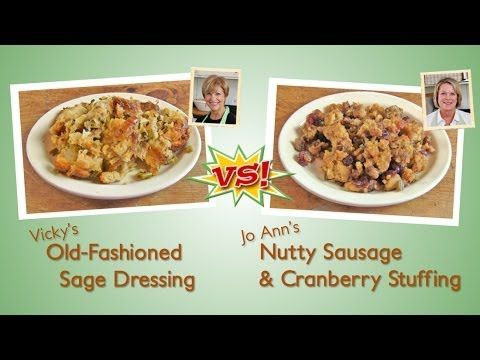 Thanksgiving Stuffing Recipe Cook-Off!