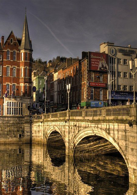 St.Patrick's Bridge, Cork, Ireland (by federico-69)