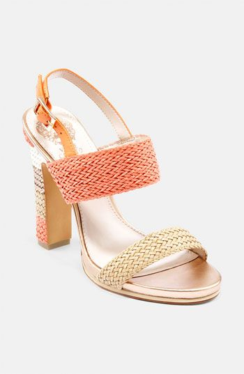 Just peachy. Vince Camuto Coral Sandal, on sale.