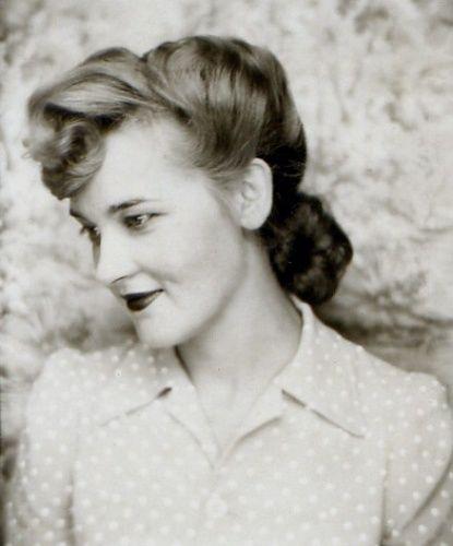 Simple portrait, 1940s.