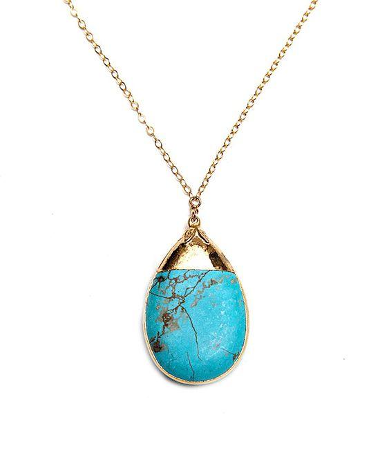 Turquoise Amsu Necklace