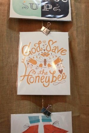 sweet honeybee card from This Paper Ship