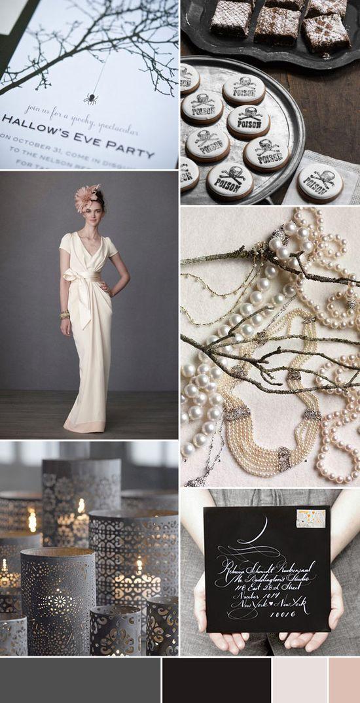 Stylishly Spooky - Halloween Wedding Inspiration,  Go To www.likegossip.com to get more Gossip News!