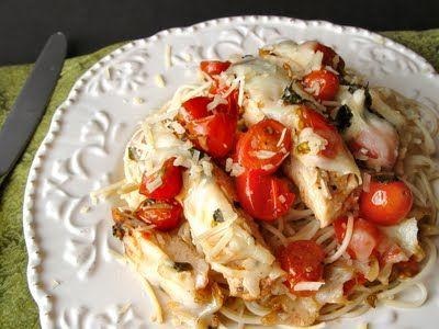 grilled bruschetta chicken
