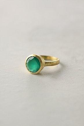 Green ring of my dreams.