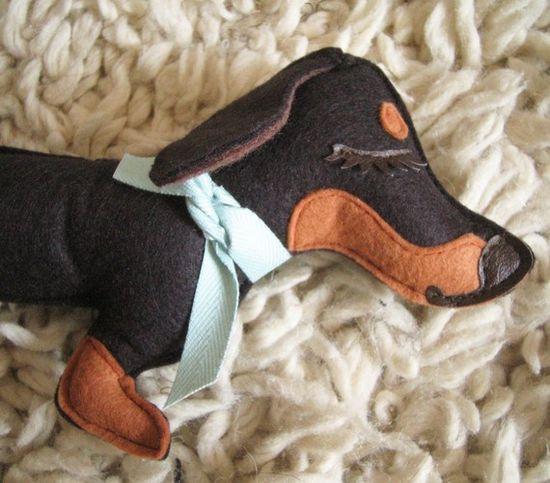 """Teriyaki the Dachshund Weiner Dog""!"