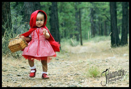 Little Red Riding Hood Tutu Costume via Etsy