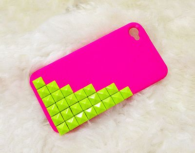 neon iPhone 4 Cases For Girls