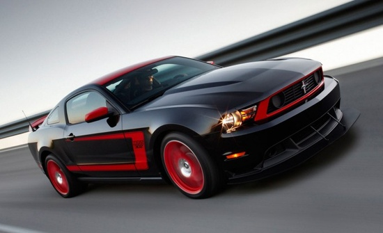 Ford Mustang sports car.