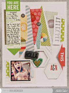 Holla! by Jen Jockisch at Studio Calico