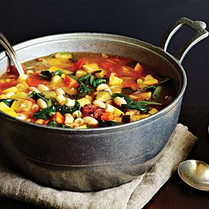 Garden Minestrone from The New Way to Cook Light