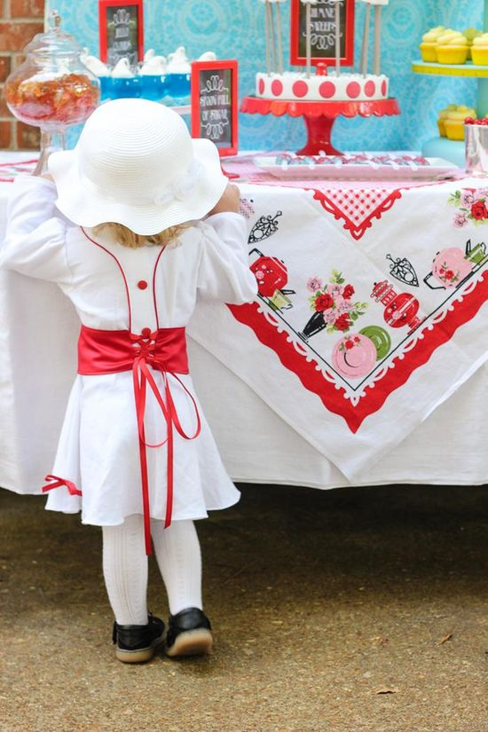 Mary Poppins Party with Lots of Really Cute Ideas via Kara's Party Ideas