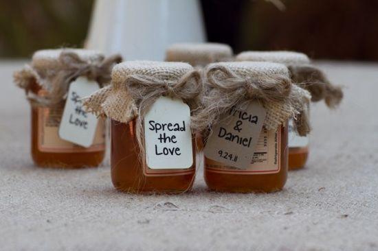 Honey Country Wedding Favors