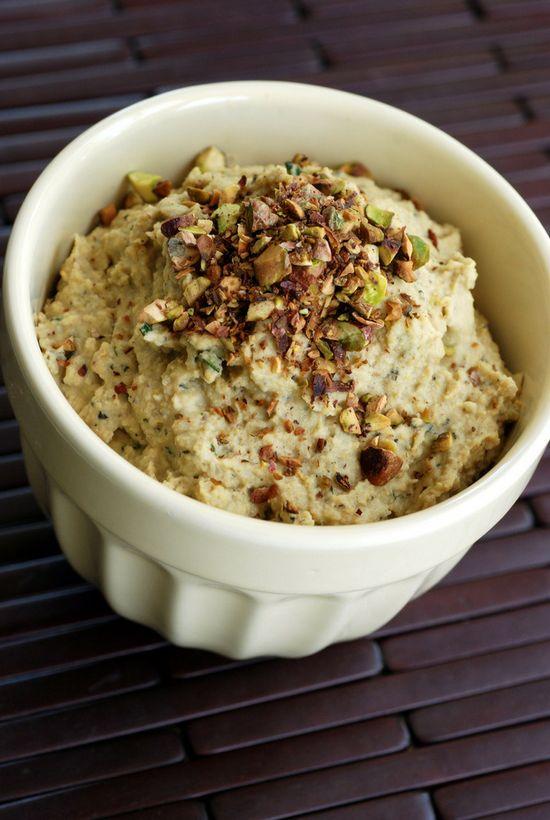 Rosemary Pistachio Hummus