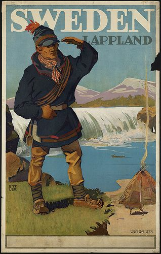 Sweden. Lappland by Boston Public Library, via Flickr