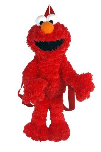 Elmo Plush Backpack Party Accessory $11.75 (49% OFF)