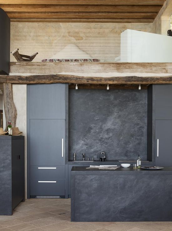 Modern Kitchen Design At The Richard Shapiro House