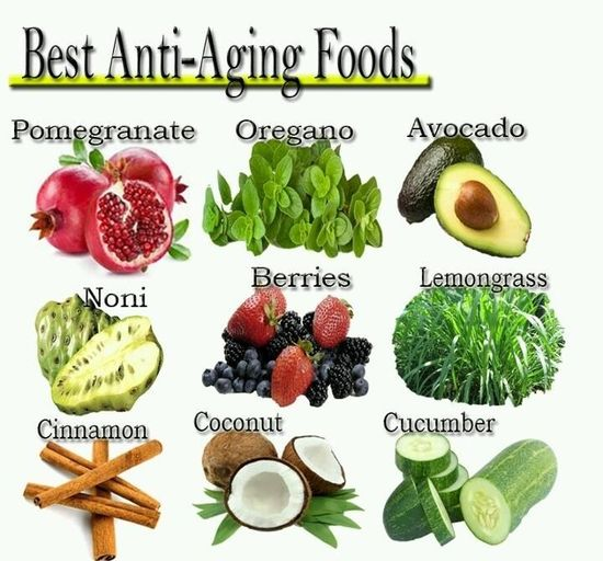 Anti-again foods #health #tip