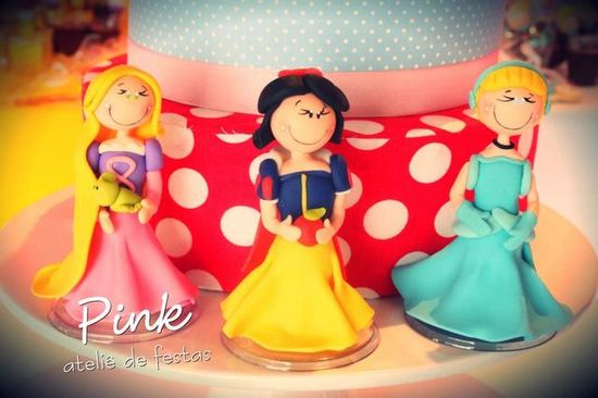 Pretty cake at a Princess Party!  See more party ideas at CatchMyParty.com!  #princess #partyideas