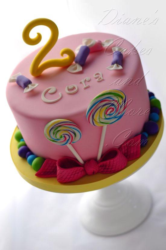 Lollipop Cake