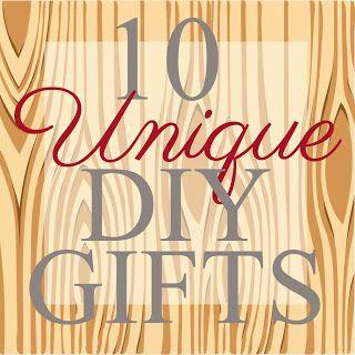 vixenMade: 10 Unique DIY Gifts