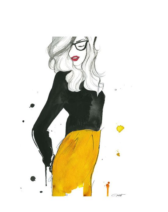 shu84: Jessica Durrant Fashion Illustrations
