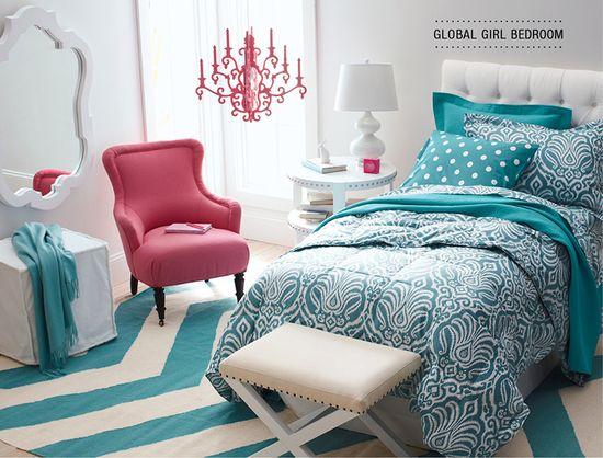 Global Girl Bedroom