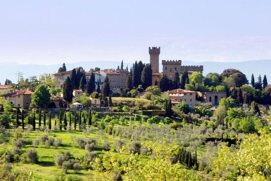 Tuscan castle -