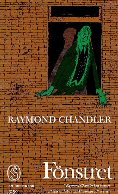 Book cover - Raymond Chandler - Fönstret (The High Window)