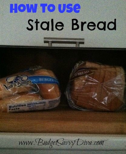 How to Use Stale Bread