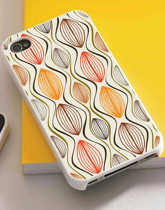 Colorful vintage iphone case