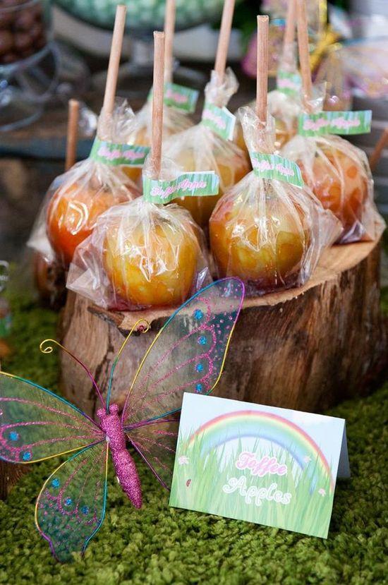 Apples at a Garden Party via Kara's Party Ideas