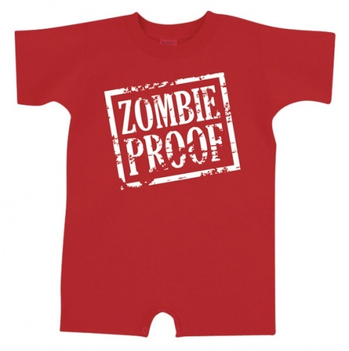 Zombie Proof Romper - Baby Boy Playwear