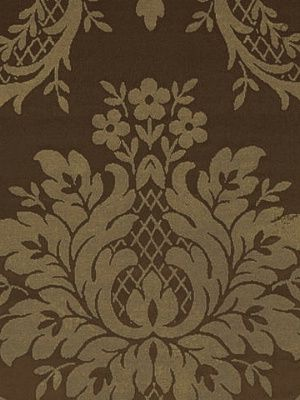 Ralph Lauren Fabric Castleton Damask-Umber $231.75 per yard #interiors #decor #royaldecor