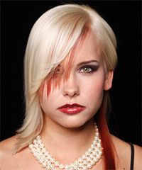 Salon Hairstyle: Alternative Long Straight Hairstyle