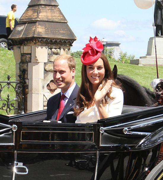 July 1, 2011: Prince William and Catherine, The Duchess of Cambridge, on an official Royal visit to Ottowa, Canada..Always smiling!!  I pray they will truly be happy and use their potential for God's glory!