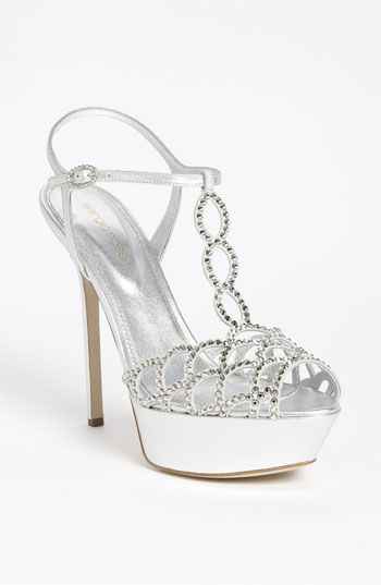 Sergio Rossi Crystal Platform Sandal (Nordstrom Exclusive) available at #Nordstrom