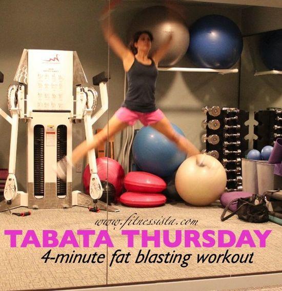 4-minute fat-blasting cardio blitz! git it