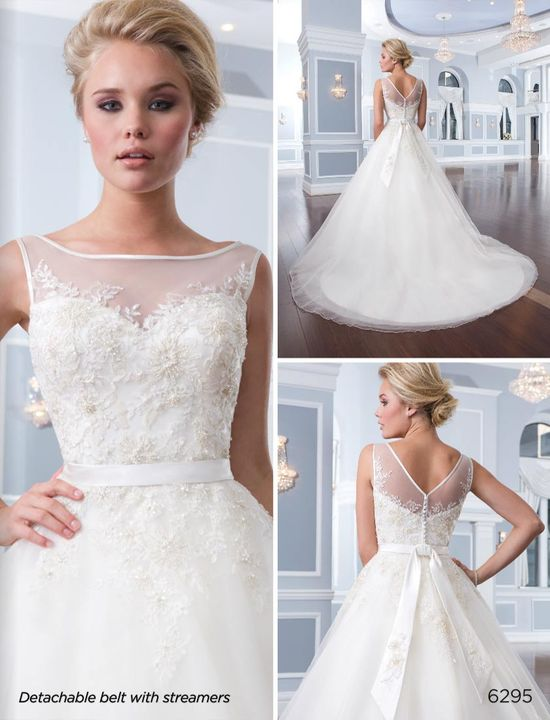 Lillian West wedding dress #6295 at Glamourous Gowns.