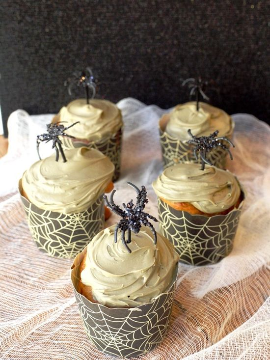 DIY: Glittered Halloween Dessert Picks